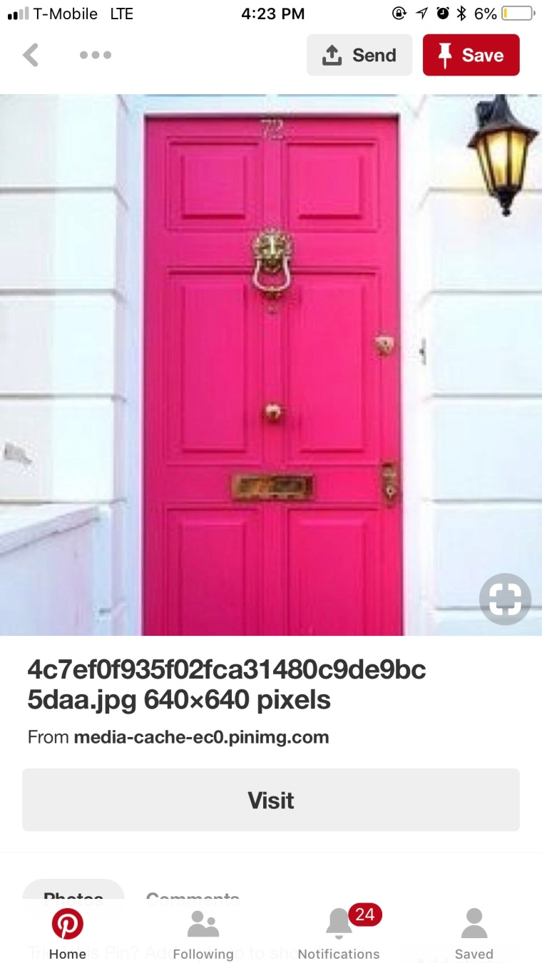 The house with the PINK door…. – Hanging with the Harrells